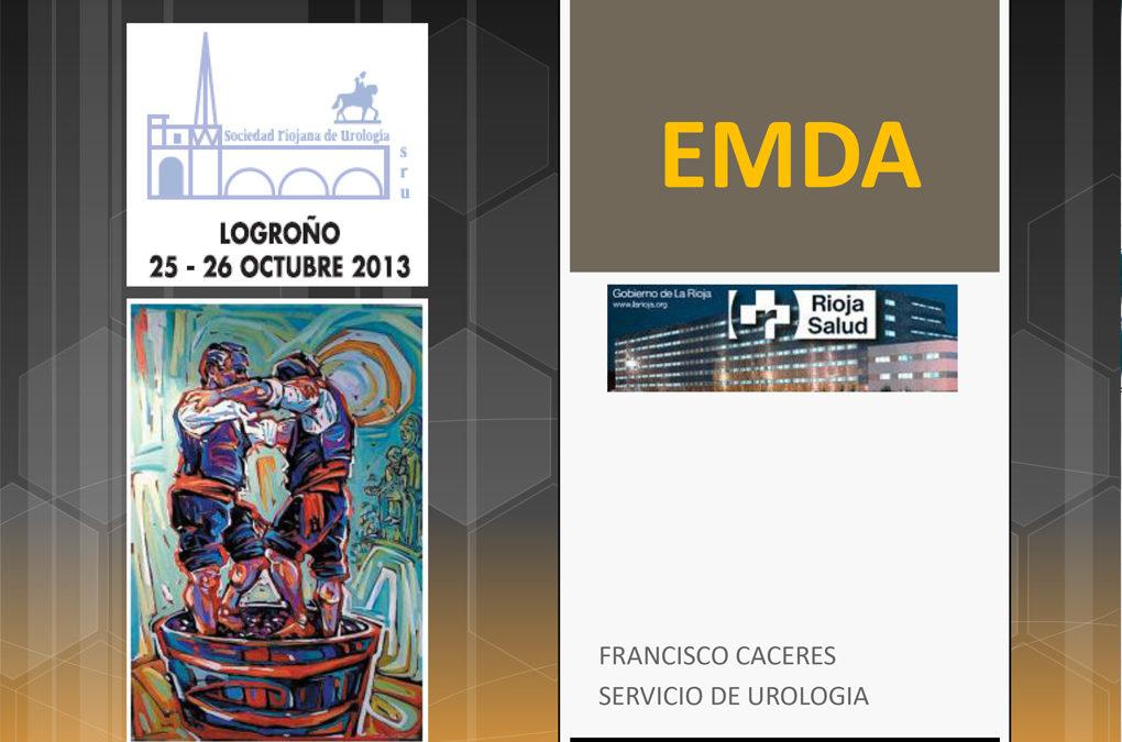 La Sociedad Riojana de Urología aporta datos sobre EMDA: reduce el porcentaje de recidiva de cáncer de vejiga en un 20 % y en los casos de aparición de recidiva la retrasa a más de 4 años