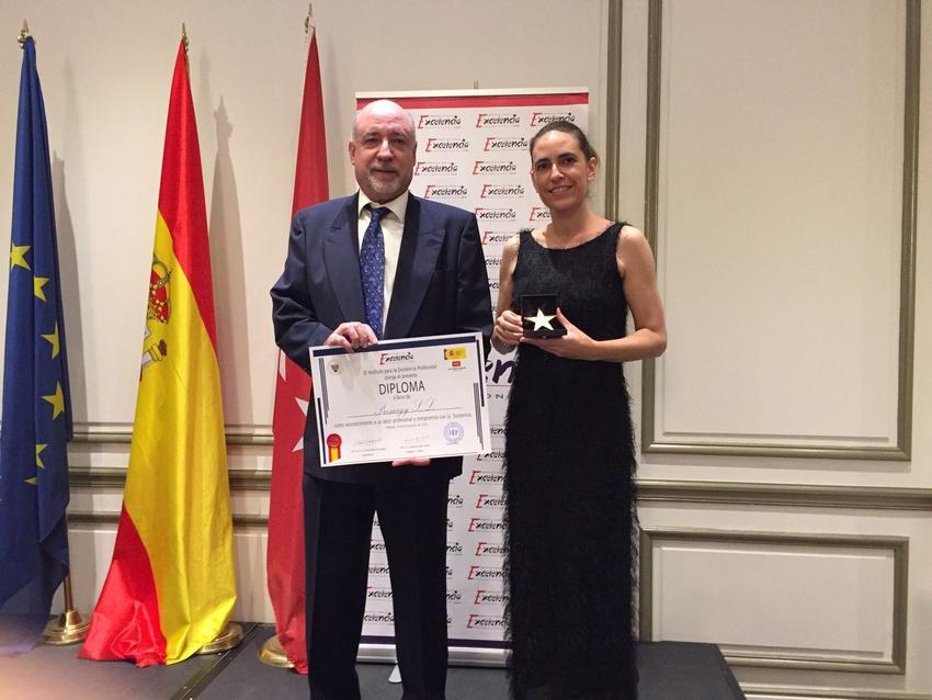 PRESURGY recibe la Estrella de Oro a la Excelencia Profesional