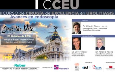 (ES) I Curso de Cirugía de Excelencia en UROLITIASIS. Avances en endoscopia